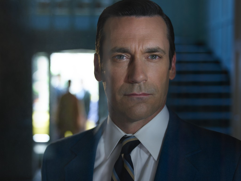 Jon Hamm, protagonista de Mad Men