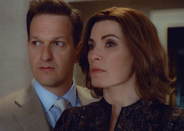 Josh Charles volvió en el final de The Good Wife