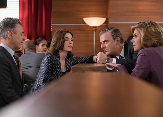 El juicio al marido de Alicia marcó el final de The Good Wife